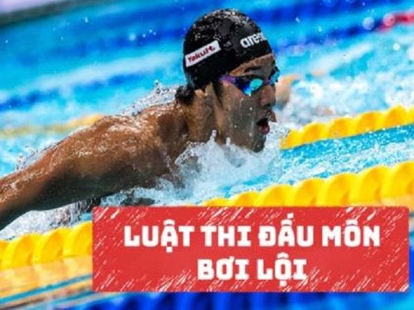 Luật thi đấu bơi lội và những điều cần biết